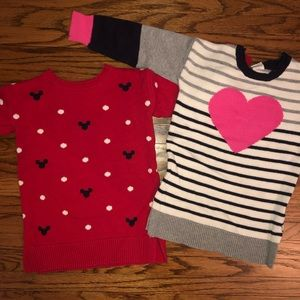 Minnie and Heart Gap Sweater Dress Bundle